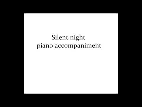 Silent Night Piano Accompaniment Youtube