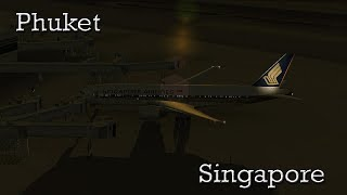 Phuket (VTSP) - Singapore (WSSS) 777-200 Singapore Airlines FS2004