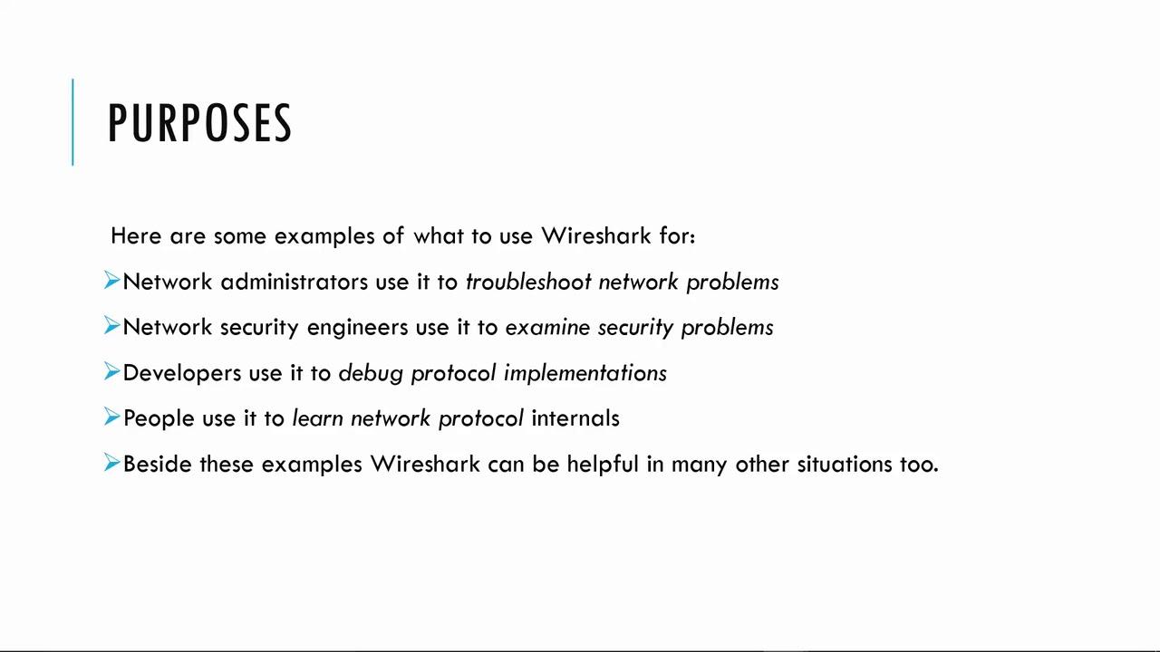 Wireshark Tutorial Get Wireshark Certification What Is Wireshark