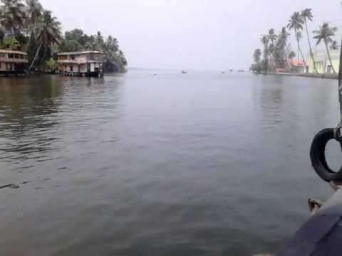 Alleppey or Alappuzha (ആലപ്പുഴ) Houseboat Travel Kerala Part-1