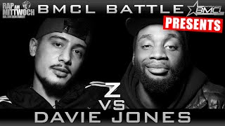BMCL RAP BATTLE: Z VS DAVIE JONES (BATTLEMANIA CHAMPIONSLEAGUE)