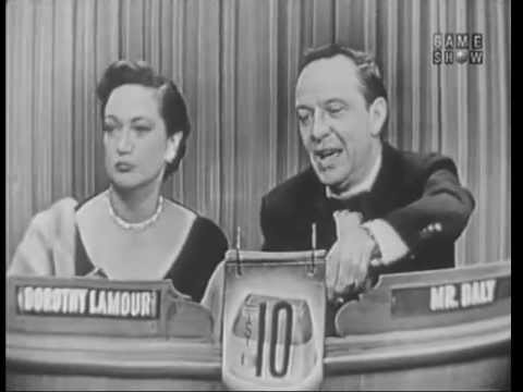 What's My Line? - Dorothy Lamour; Ezio Pinza [panel] (Feb 20, 1955)