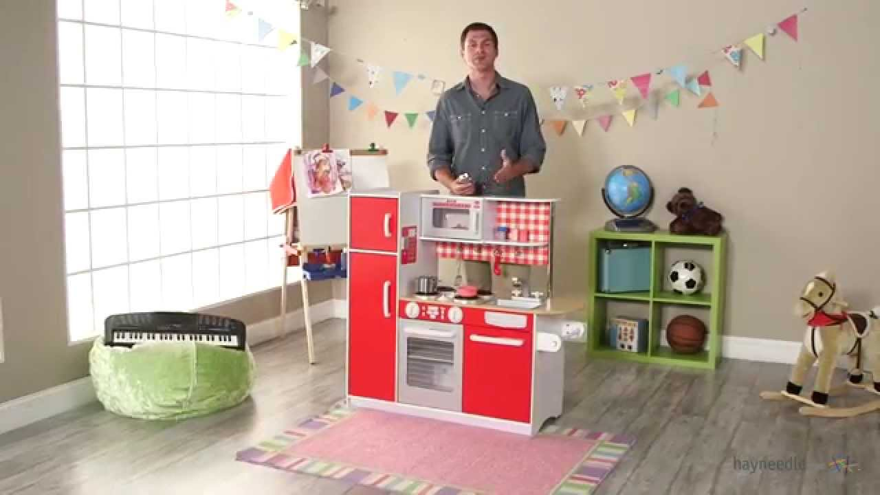 kidkraft super chef play kitchen product review video youtube. Black Bedroom Furniture Sets. Home Design Ideas