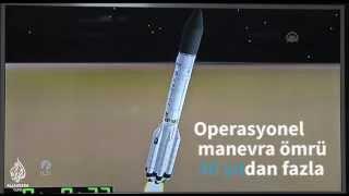 Türksat 4B uydusu fırlatıldı