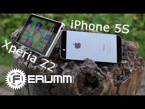Apple iPhone 5S VS Sony Xperia Z2 честное сравнение. Xperia Z2 или iPhone 5S битва by FERUMM.COM