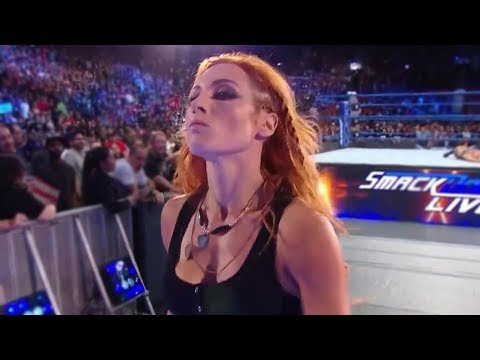 WWE Becky Lynch Hot Compilation - 9