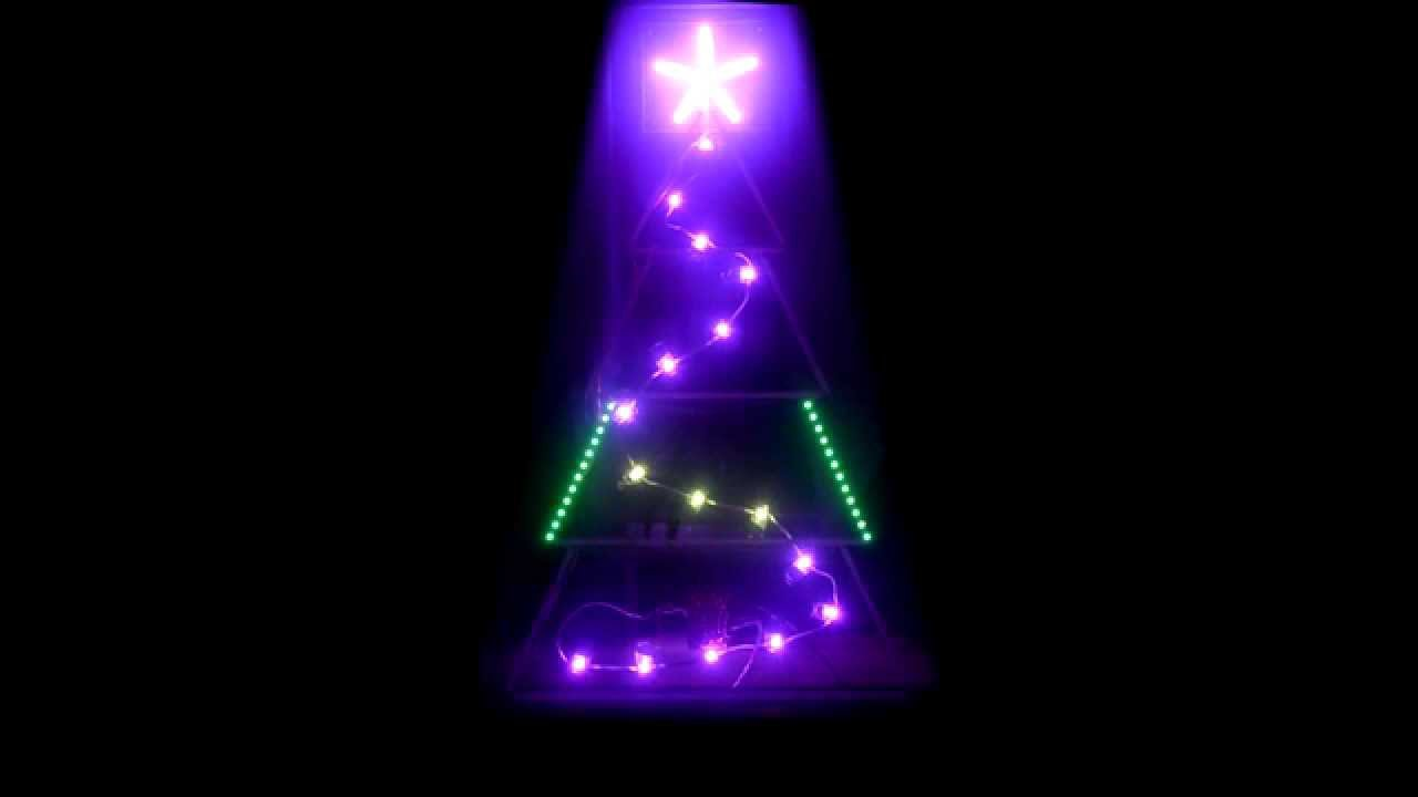WS2812 Animated LED Christmas Tree Project - YouTube