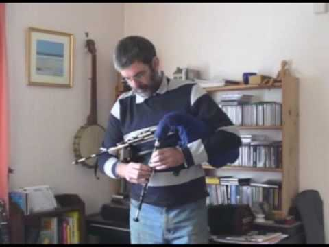 A short medley of tunes on D Northumbrian Pipes