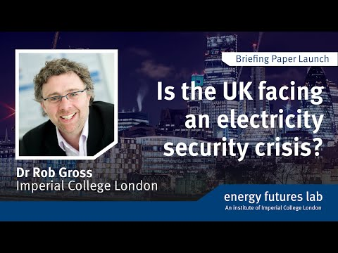 Is the UK facing an electricity security crisis?