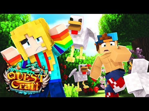 WHEN CHICKENS ATTACK | QuestCraft Ep 11