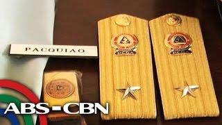 TV Patrol: Pacquiao, heneral na sa Coast Guard