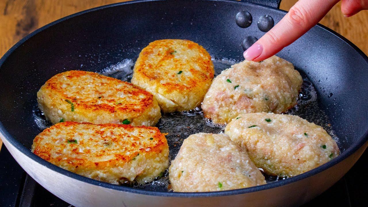Niezwykle pyszne kotlety bez mięsa, z kalafioru - prawdziwe odkrycie! | Cookrate - Polska