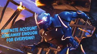 (NEW) FORTNITE ACCOUNTS ENOUGH FOR EVERYONE!