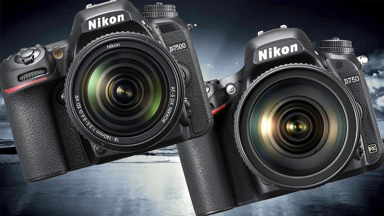 Nikon D750 vs Nikon D7500 High ISO Performance