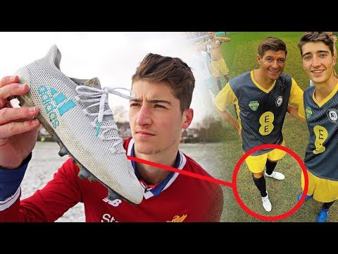 Why Steven Gerrard Wore My Football Boots at Wembley