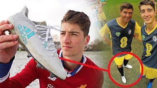 The Steven Gerrard Football Boot Story
