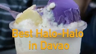 Exploring Davao City - Best Halo Halo