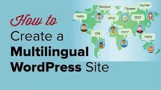 كيف يمكن بسهولة إنشاء موقع وورد متعدد اللغات