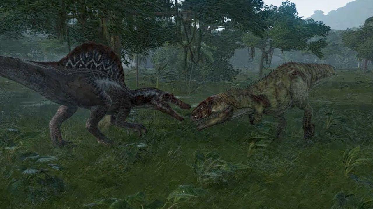 Spinosaurus VS Giganotosaurus Update 1.4 - Jurassic World ...Giganotosaurus Vs Spinosaurus