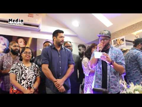 Essensuals by Toni & Guy Adyar Launch by Actor Jayam Ravi | Media Directory