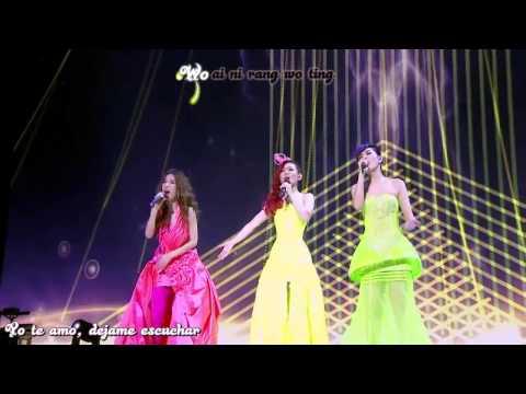 S H E wo ai ni live concert sub español