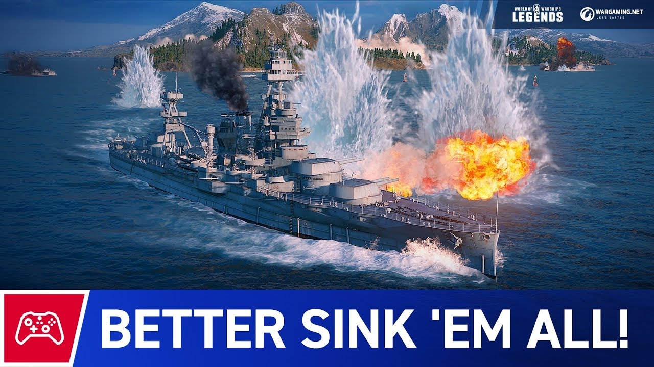 World of Warships Legends' Founder's Packs will kickstart