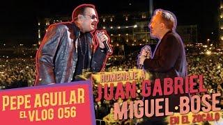 PEPE AGULAR - EL VLOG 056 - HOMENAJE JUAN GABRIEL / MIGUEL BOSE EN EL ZOCALO