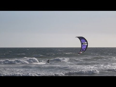 Huntington Beach, CA, Kitesurfing, 5/15/2018 - Part 1 (1080p)