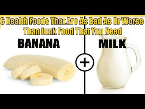 6 Health Foods That Are As Bad As Or Worse Than Junk Food That You Need - Activebeat