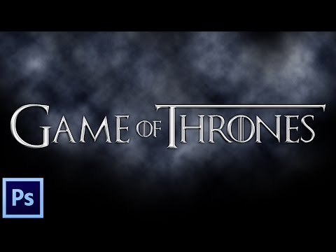Photoshop Tutorial: How To Create Game Of Thrones Text