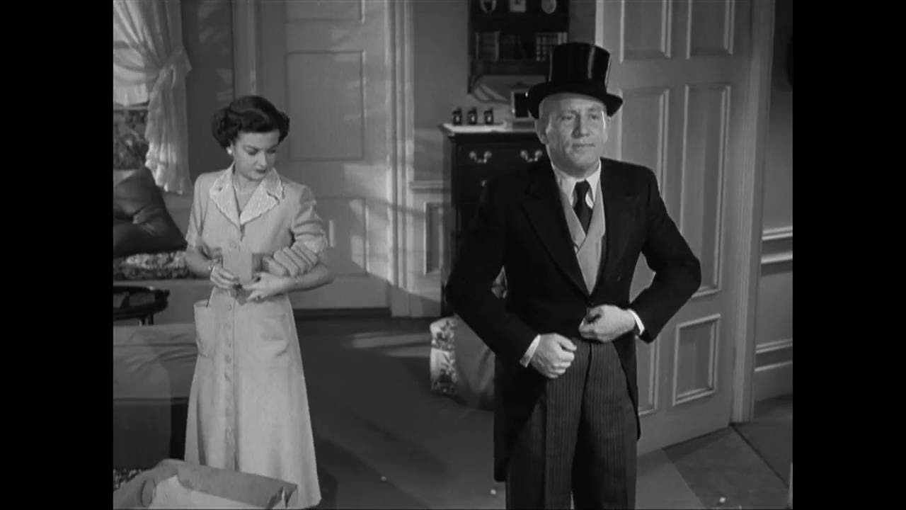 Father Of The Bride 1950 Old Cutaway Youtube
