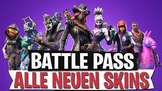 BATTLE PASS SEASON 6 | ALL NEW SKINS | Fortnite Battle Royale