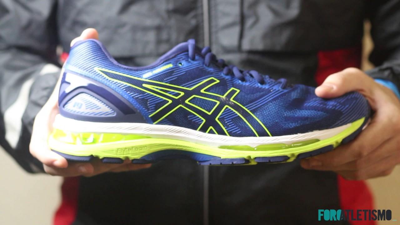 208955d4085 Asics Gel Nimbus 19  zapatillas de entrenamiento para neutros - YouTube