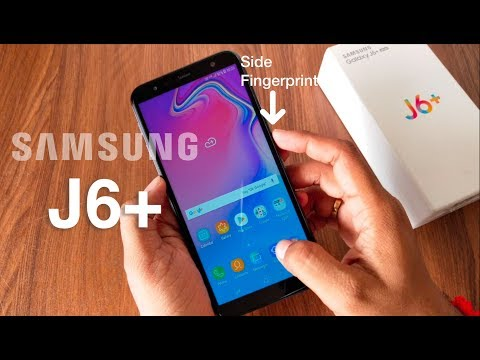 Samsung Galaxy J6 Plus Unboxing & Review In Hindi