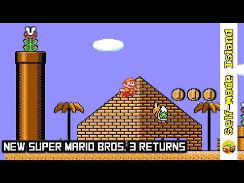 NEW Super Mario Bros. 3 Returns • Super Mario Bros. 3 ROM Hack