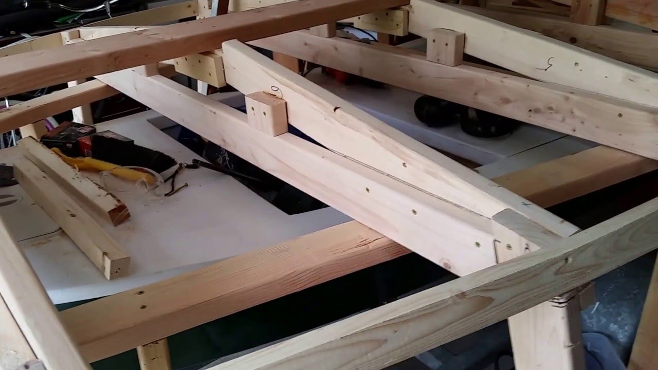Wood Boat Building (Plywood on Frame Video 1) - YouTube