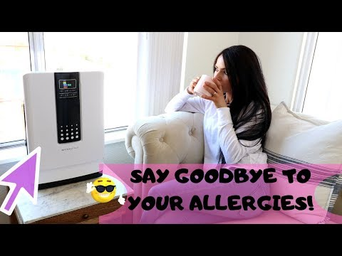 A Great Air Purifier For Spring Allergies Season_ Hathaspace Smart Purifier!