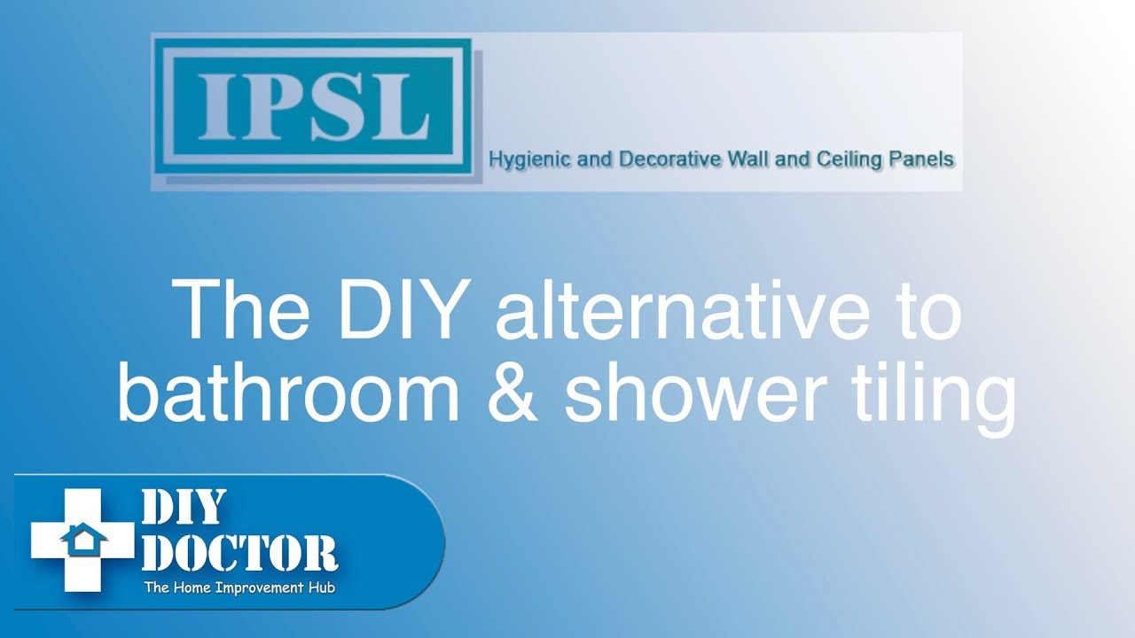 Using shower panels instead of tiling a bathroom or shower - YouTube