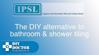Using shower panels instead of tiling a bathroom or shower