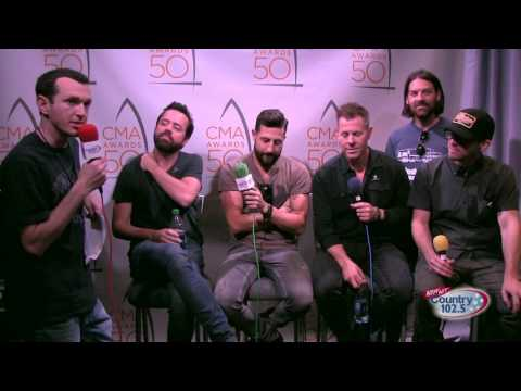 The 50th Annual CMA Awards Broadcast: Old Dominion Interview