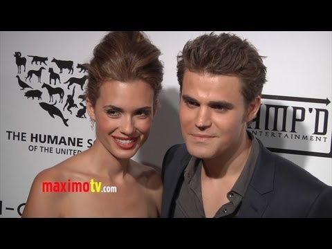Paul Wesley and Torrey DeVitto Interview at H-Couture 2012: The Future of Fashion