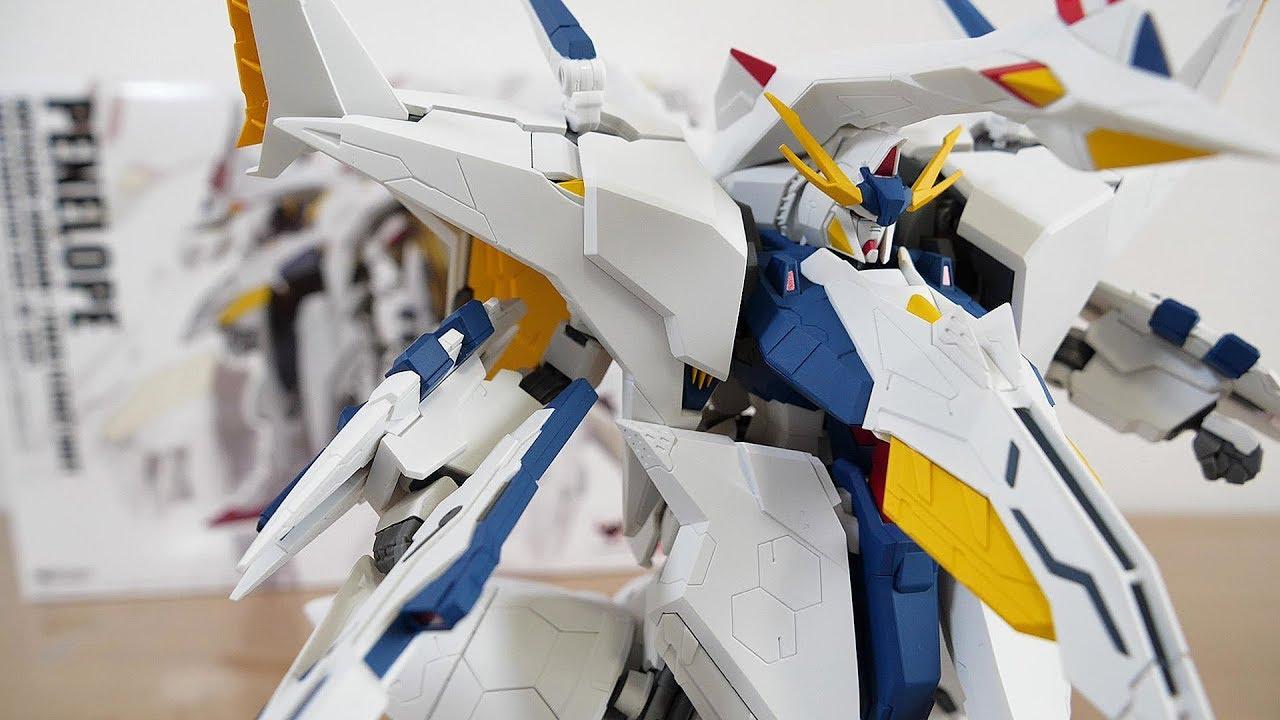 オデュッセウスガンダムとフライトユニットを分離可能!ROBOT魂 ペーネロペー レビュー