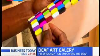 Deaf Art Galery: Organization that trains and employs deaf artists