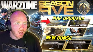 *NEW* WARZONE SEASON 5! BATTLEPASS! PATCH NOTES! MAP CHANGES!!
