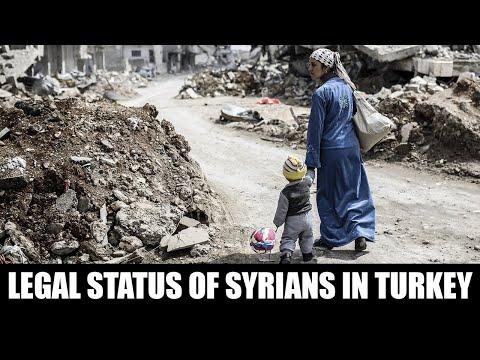 Legal Status of Syrians in Turkey   Legal Talks