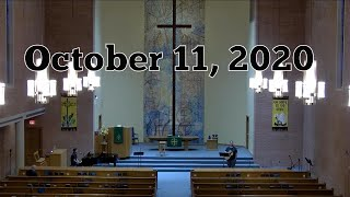 October 11, 2020 Service