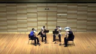 Manhattan Suite (Tuba Quartet) Mvt. III: Jazz Waltz-John Stevens