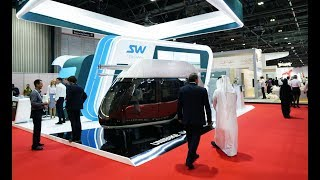 Dubai, SkyWay alla Fiera Future Cities Show, latmosfera dellevento
