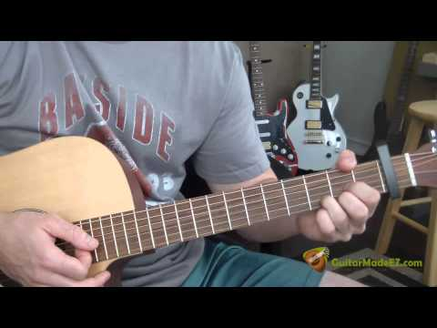 Jonathan Edwards - Sunshine (Go Away Today) - Guitar Lesson (INCLUDING INTRO AND OUTRO!!!) Mp3