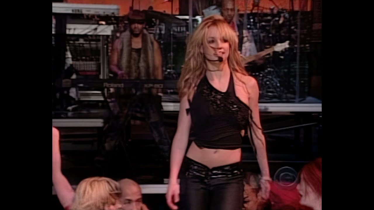 Britney Spears - I'm a Slave 4 U @ Late Show with David Letterman (Live Vocals) [AI]